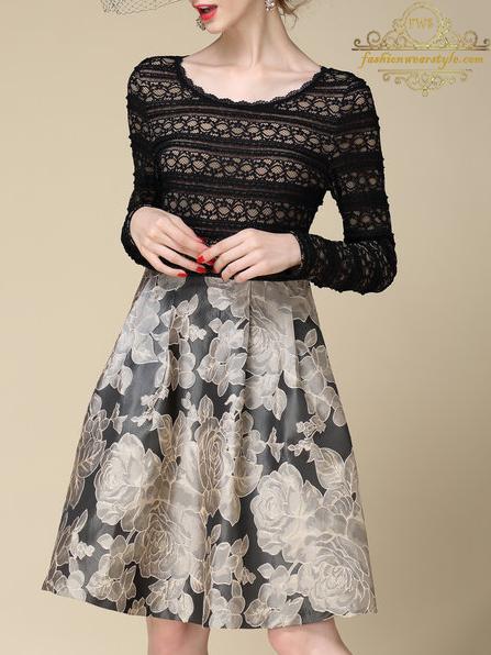 Dazzling Midi Dresses by Stylewe www.fashionwearstyle.com