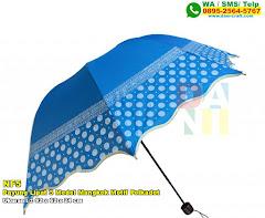 Payung Lipat 3 Model Mangkok Motif Polkadot