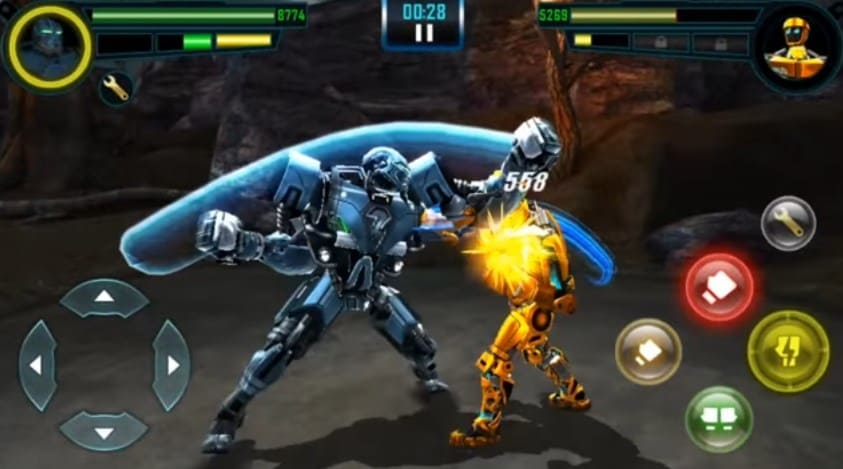 Download Game Real Steel HD Mod Apk+Data for Android