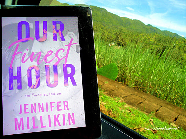Our Finest Hour (The Time Series #1) by Jennifer Millikin | ARC | A Book Review by iamnotabookworm!
