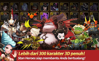 HEROES WANTED : Quest RPG v1.1.1.24327 Apk Terbaru Free Download screenshot 3