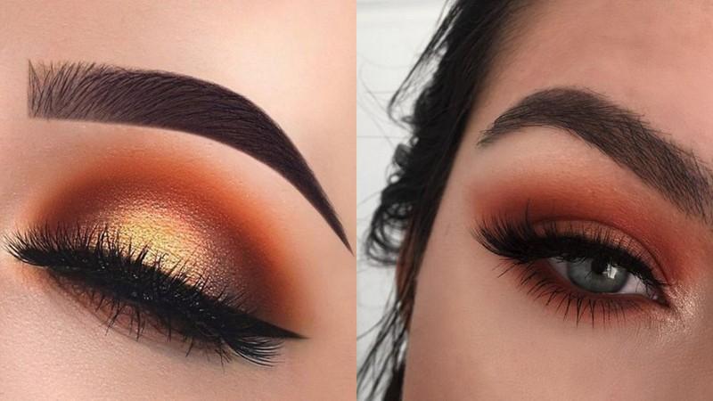 oranssi silmämeikki
