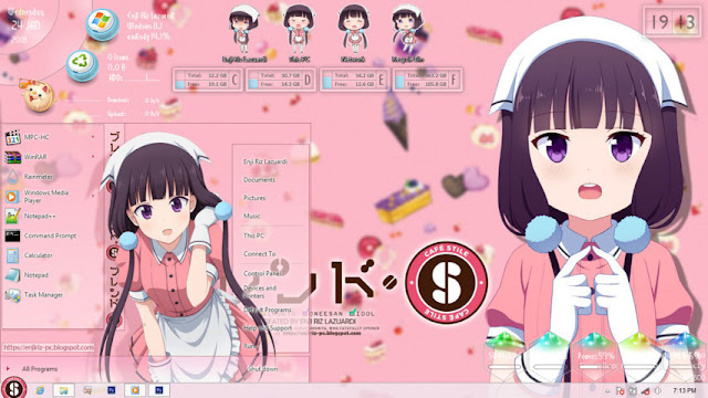 Windows 8/8.1 Theme Blend S by Enji Riz