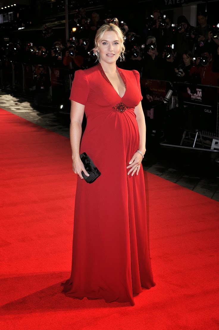 Kate Winslet In A Jenny Packham Gown At The Labor Day