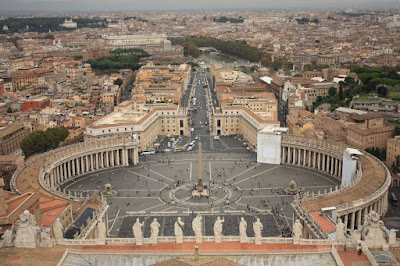Saint Peter's Square in Rome
