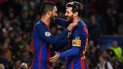 UEFA-Group-C-6 Barcelona 4 vs 0 Monchengladbach 06-12-2016