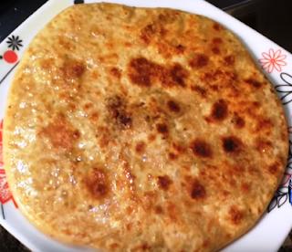 सोया बीन परांठा रेसिपी - Soybean Paratha Recipe - Soya Chunks Paratha Recipe -  How to Make Soyabean Paratha at Home
