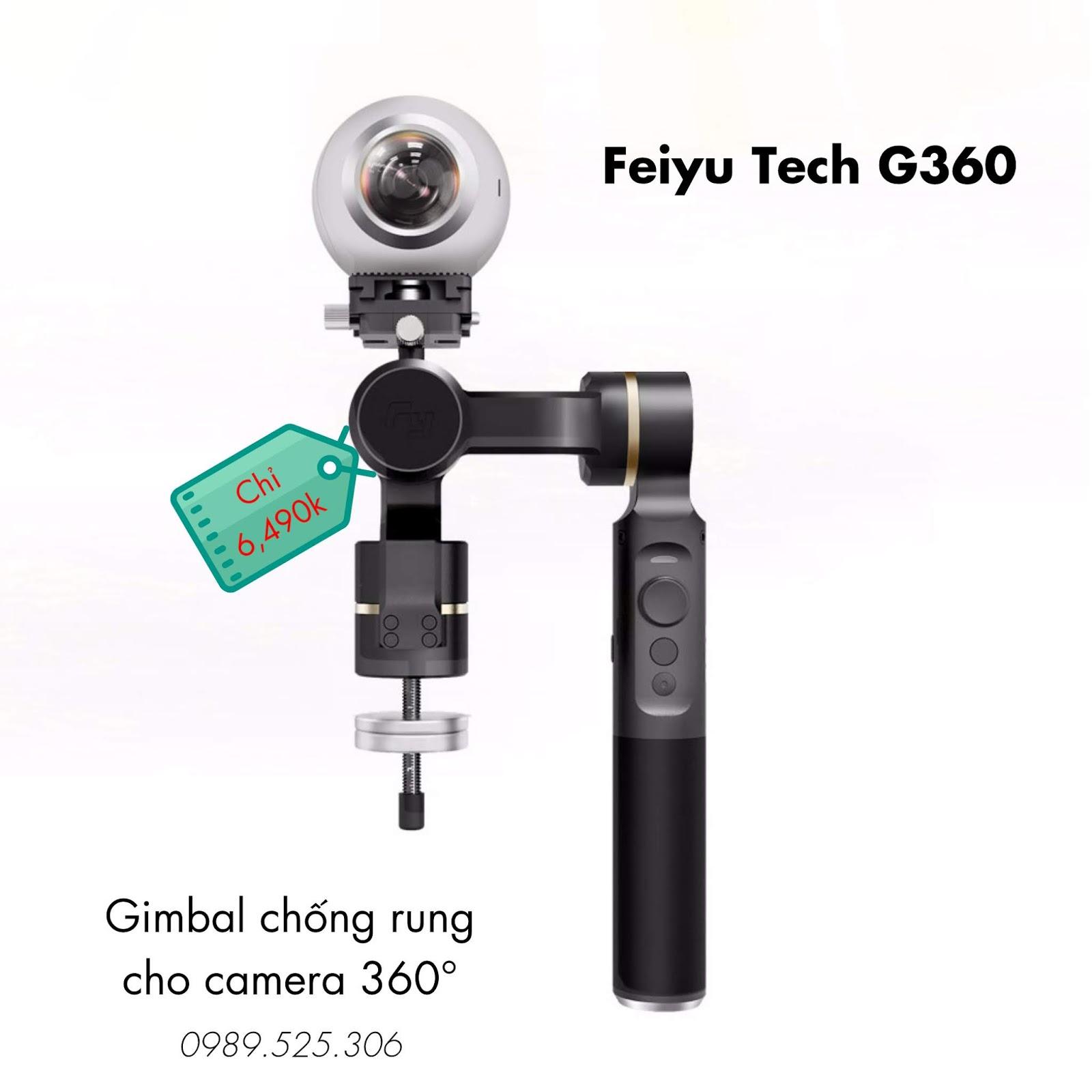 Gimbal chống rung camera 360 độ Feiyu G360 giá rẻ