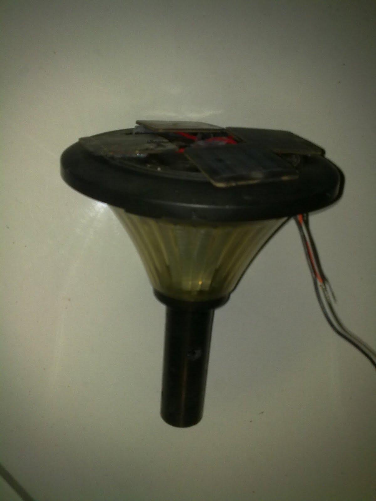Build A Solar Garden Light Circuit Diagram Electronic Circuits