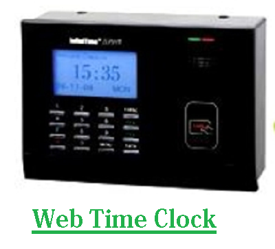 Web Time Clock to Improve Work Productivity