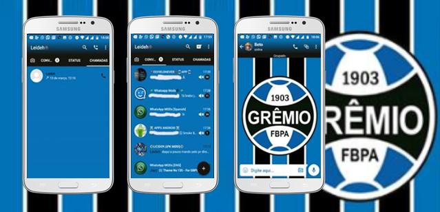 Baixar Temas GBWhatsapp - Grêmio