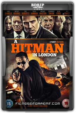 A Hitman in London Torrent BDRip Dual Áudio 2016