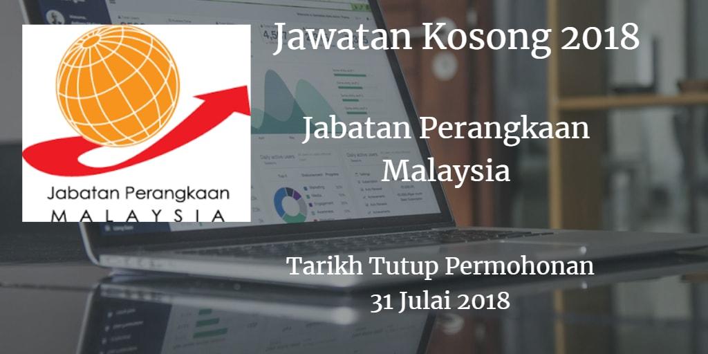 Jawatan Kosong Jabatan Perangkaan Malaysia (Selangor) 31 Julai 2018