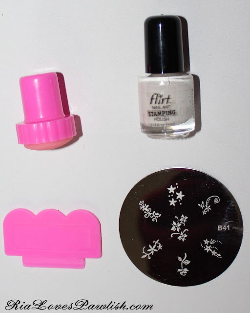 Ria Loves Pawlish: Flirt Nail Art Stamping Haul