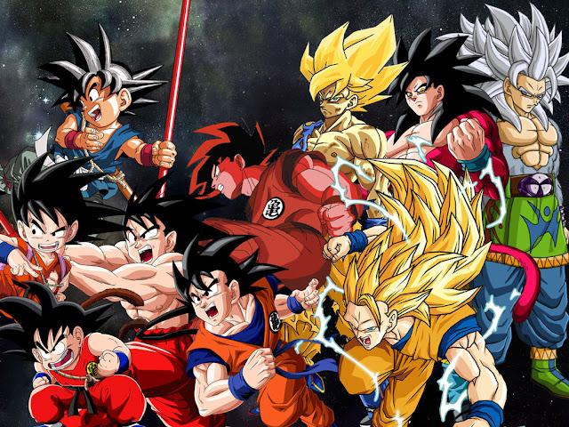 goku all transformations 23 Top 15 Anime Super Hero