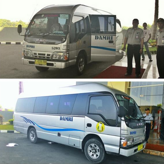 Bus DAMRI Bandara Soekarno Hatta - Cibinong