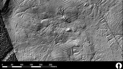 Aircraft Lidar illuminate Scotland's past
