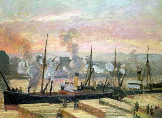 impressionnisme-camille-pissarro-coucher-de-soleil-a-rouen-le-dechargement-du-bois-1896-la-revolution-industrielle.jpg