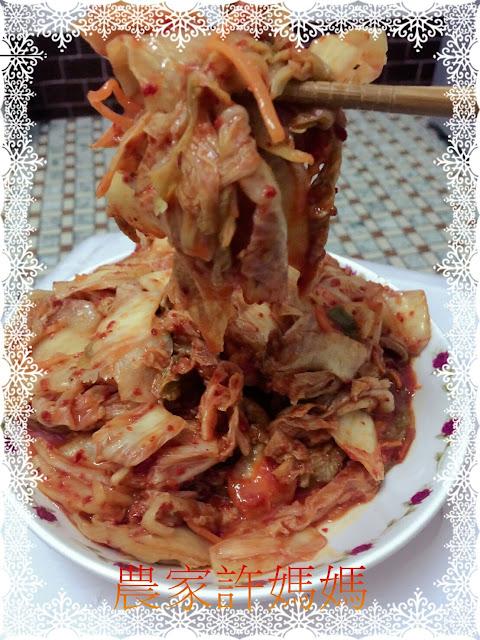 好吃到飛上天韓國泡菜網購-農家許媽媽