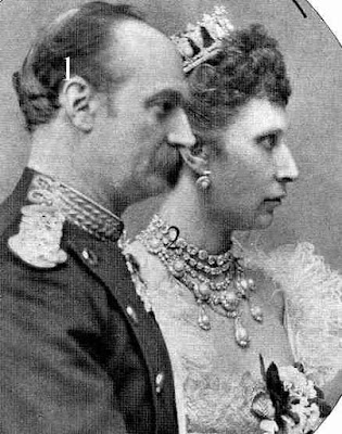 Frederik VIII and Louise, King and Queen of Denmark