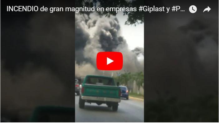 Se quemó la sede de Plumrose en Cagua de manera muy extraña