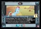 My Little Pony Desperately Seeking Spike Absolute Discord CCG Card