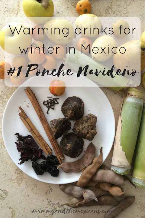 Warming drinks for winter in Mexico #1 Ponche Navideño