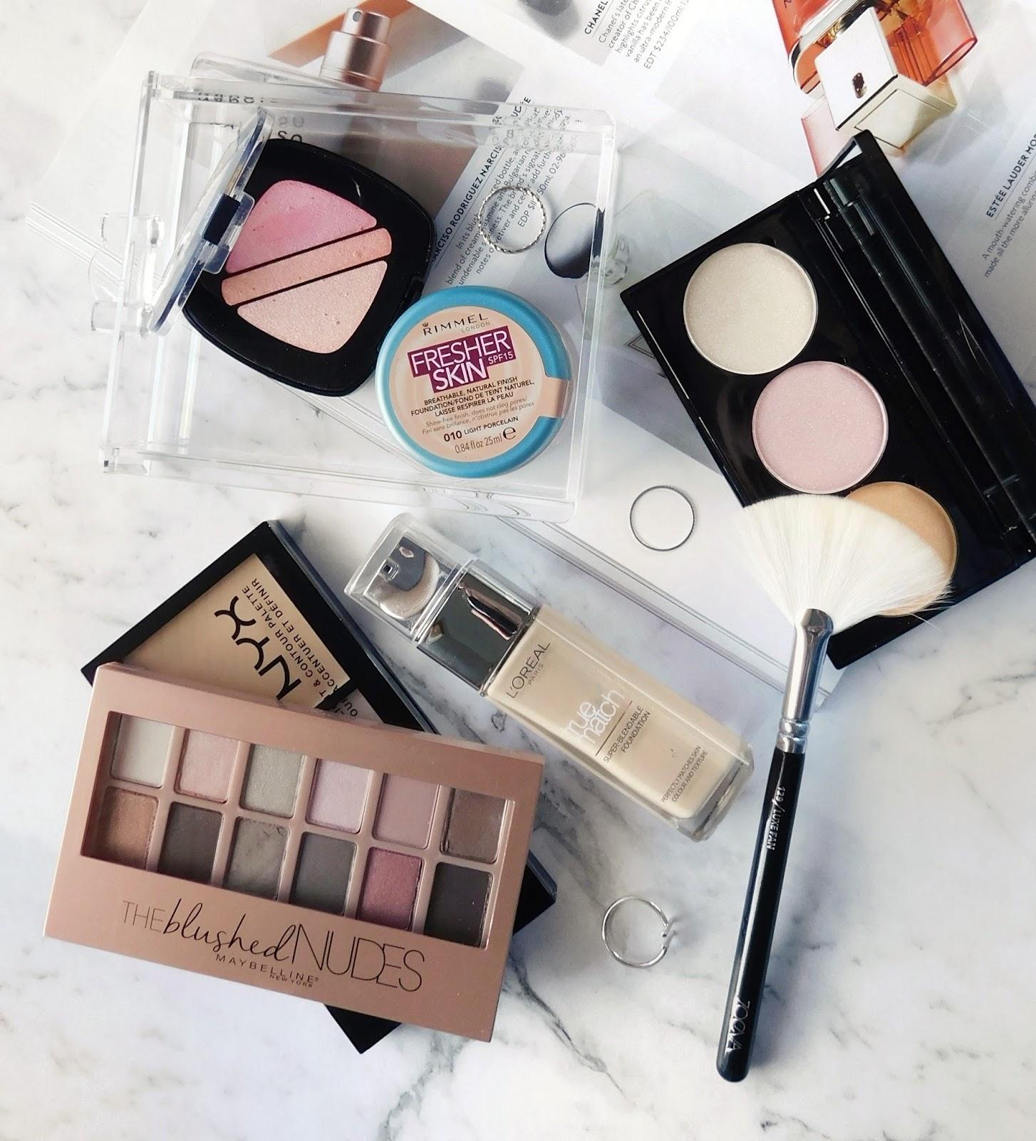 Shopping My Makeup Stash February 2017 - Lets talk beauty