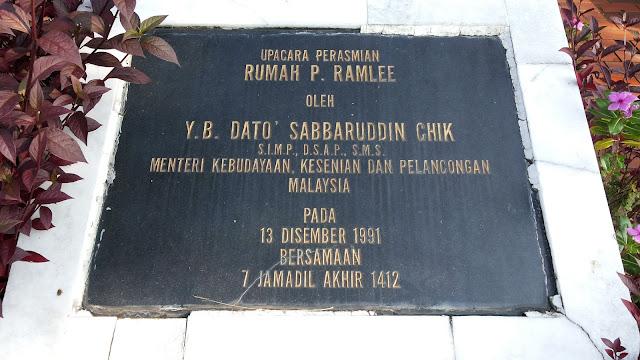 Rumah P.Ramlee dan Galeri P.Ramlee Pulau Pinang