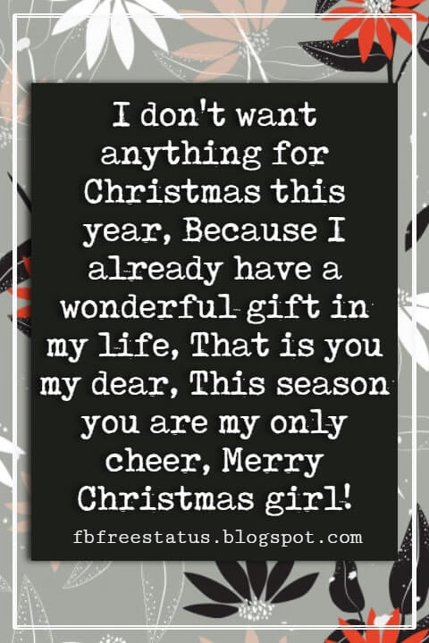 Christmas Messages For Her