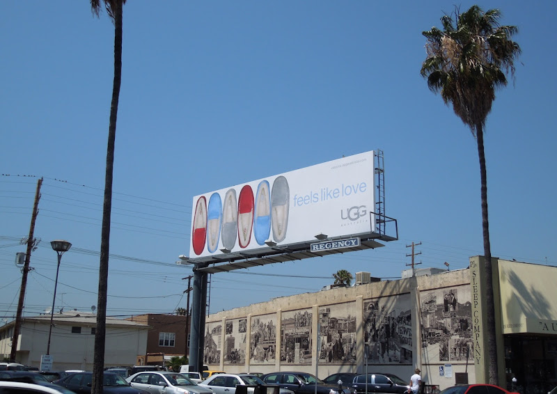 UGG Feels Like Love billboard