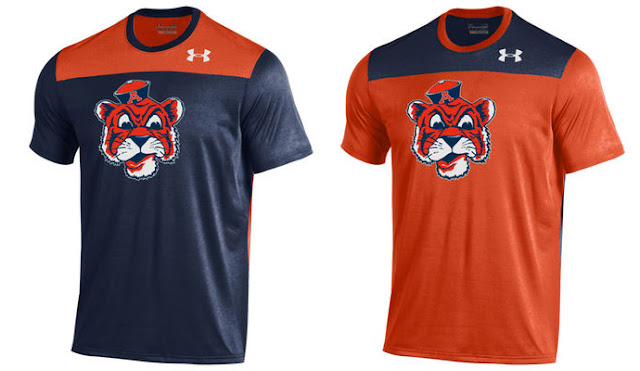 2016 Auburn Under Armour shirt