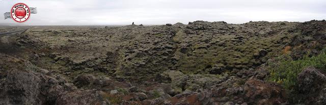 Eldhraun, campo de lava de Laki, Islandia