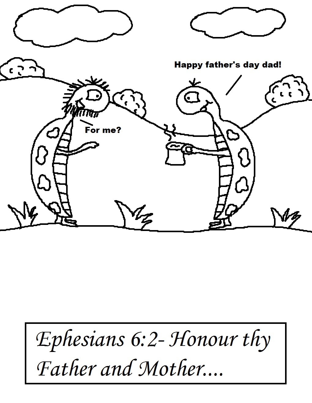 Childrens fathers day coloring pages - Father S Day Sunday School Lesson