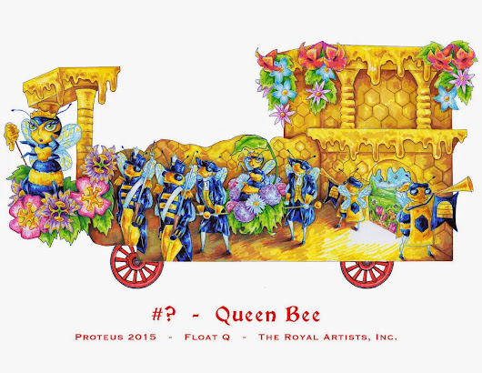 Krewe of Proteus 2015 Designs