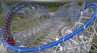 "What If Kings Island's ""Racer"" was RMC'd?"