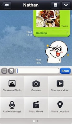LINE v3.9 for iPhone