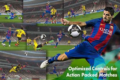 PES 2017 APK+DATA MOD Android Pro Evolution Soccer 17