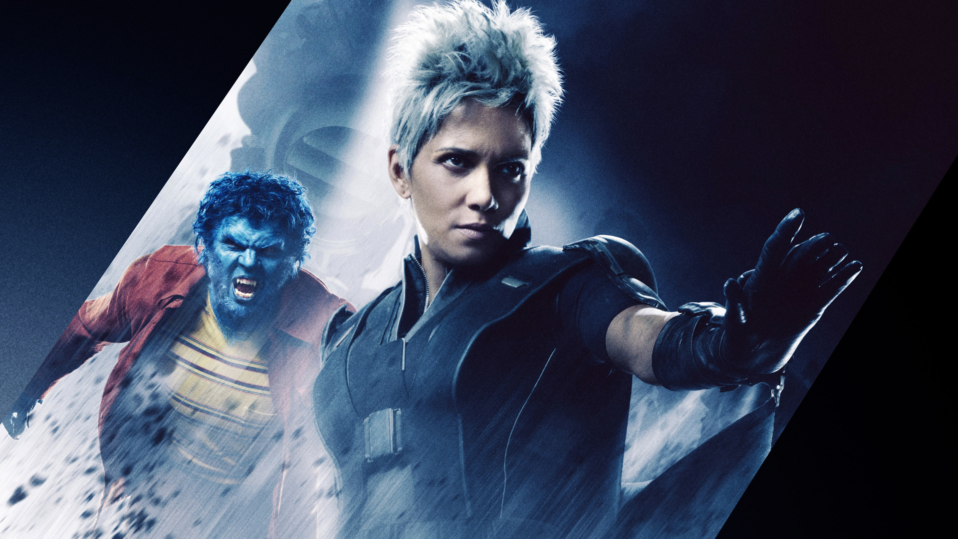 Beast and Storm X Men 2014 Wallpaper HD