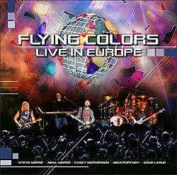 Flying Colors Live In Europe CD y DVD 2013