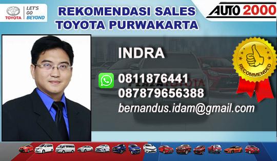 Rekomendasi Sales Toyota Purwakarta Jawa Barat