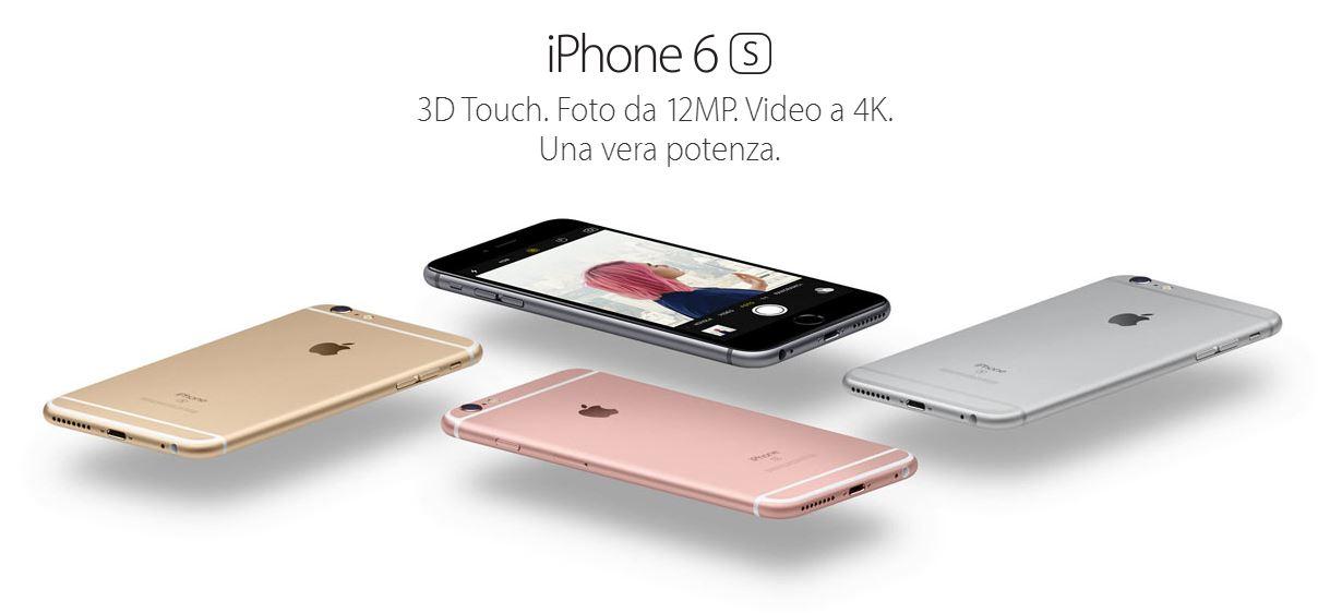 iPhone 6S | Scheda tecnica completa