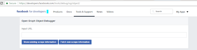 How to Use Facebook Sharing Debugger Tool Facebook for Developers
