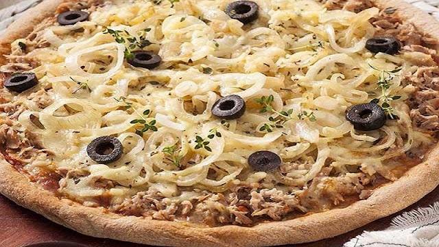 Recheio para Pizza de Atum Rústica (Imagem: Reprodução/Pizza 10 Belem)