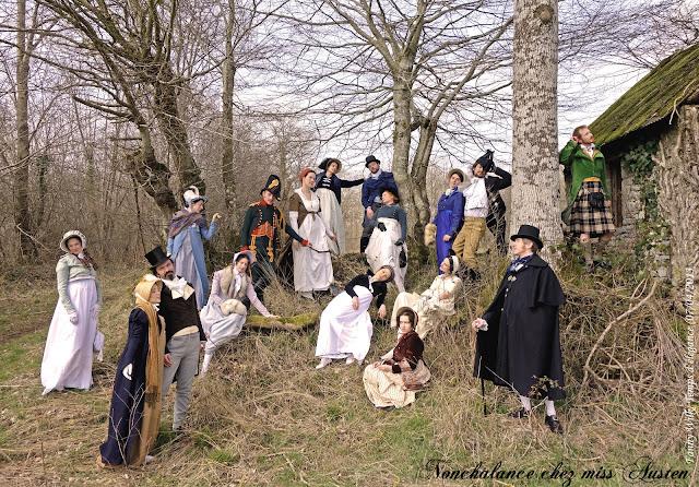 Photo : Fanny Wilk pour Temps d'élégance, WE Regency de Ballades Courtisanes