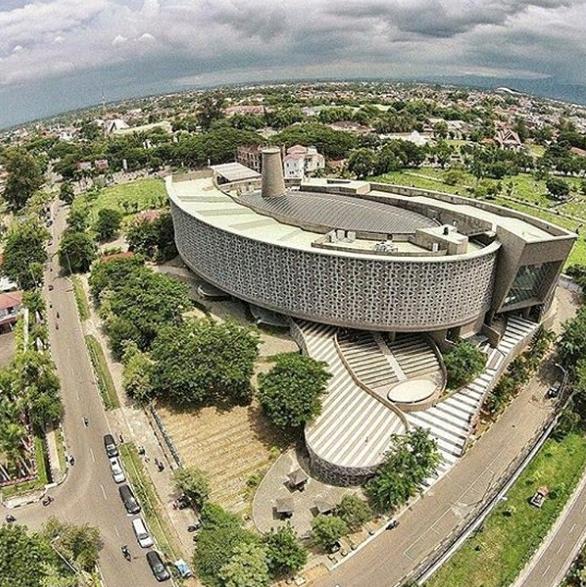 Tsunami Museum isTourist Destination in Aceh