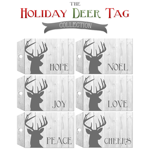 http://www.thecottagemarket.com/2013/11/free-printable-deer-gift-tags.html