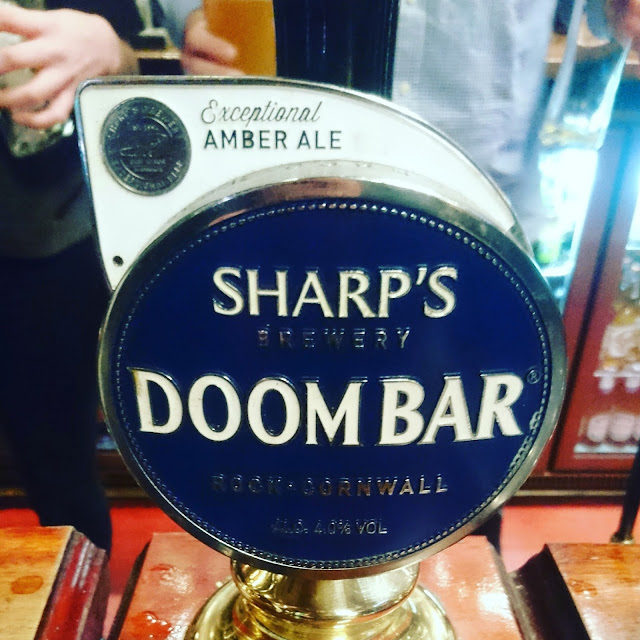 Cornwall Craft Beer Review: Doombar from Sharp's craft beer real ale