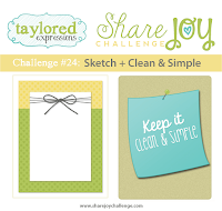 Share Joy Challenge 24 by Taylored Expressions