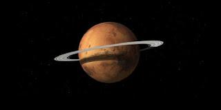 Suatu Hari, Mars Akan Menjelma Jadi Planet Bercincin